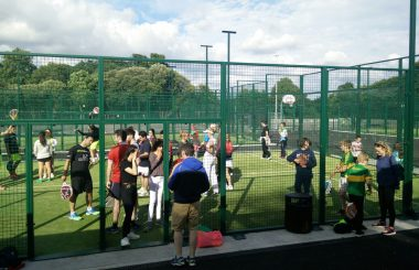 Padel hits the Park !