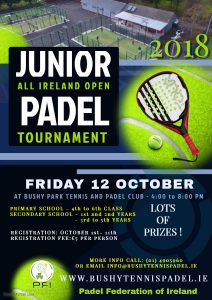 ALL IRELAND JUNIOR OPEN 12th OCTOBER