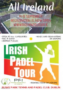 Irish Padel Tour All Ireland