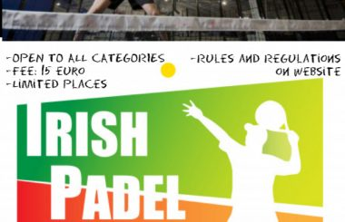 Irish Padel Tour Bangor Northern Ireland