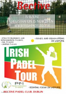 Irish Padel Tour Bective