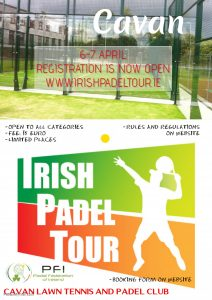 Irish Padel Tour Cavan