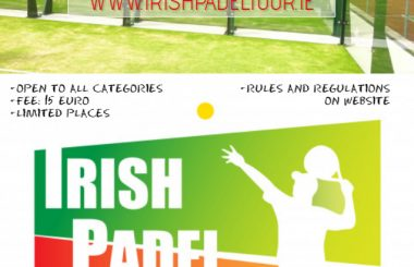 Irish Padel Tour goes to Cavan