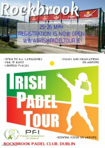 Irish Padel Tour Rockbrook