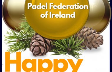 Merry Christmas and a happy new year to all padelers!